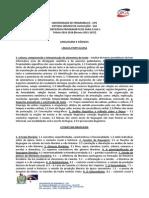 Listagem Conteúdos Programáticos SSA 2015-2017