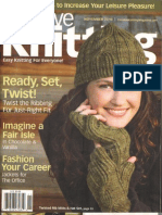 Creative Knitting - November 2010