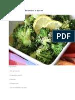 Broccoli Cu Sos de Usturoi Si Susan