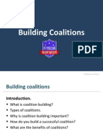 building coalitions- rvi