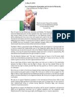 Between Hammer and Anvil - Al Nakba - YWCA Newsletter May 2015