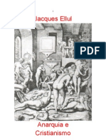 Anarquia e Cristianismo por Jacques Ellul