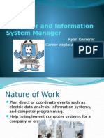 computer and information system manager