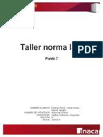 Taller Norma ISO