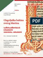 NPI-DPG Plakat 2014 - Glagoljaska Bastina Svetog Martina
