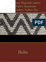Native Americans - Belts, Garters, Sashes, Etc.