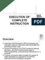 Execution of Instruction
