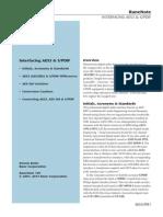 Interfacing AES3 & SPDIF