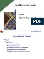 Dynamic Logic Circuits