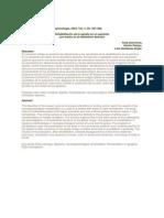Rehabilitacion de la agrafia