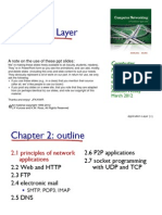 Chapter 2 ApplicationLayer