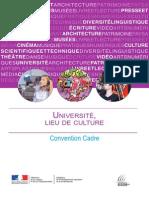 Convention Cadre Université Lieu de Culture