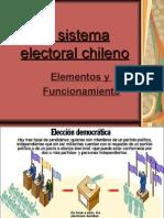 El Sistema Electoral Chileno ppp