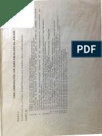 PSS Exam Subject List