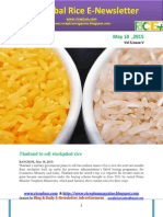 18th May,2015 Daily Global Rice E-Newsletter by Riceplus Magazine
