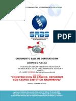 1.-Dbc Cancha Deportiva Con Cesped Sintetico Arampampa