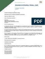 Codigo Organico Integral Penal - Ecuador