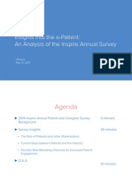 """""""Insights into the e-Patient"""