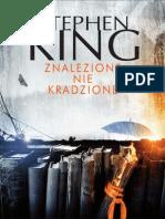 """Stephen King """"Znalezione nie kradzione"""" (fragment)"""