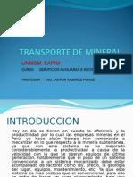 Transporte de Mineral