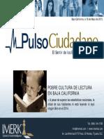 POBRE CULTURA DE LECTURA EN BAJA CALIFORNIA