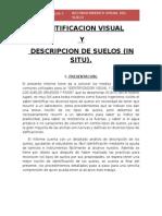 Identificacion Visual y Descripcion de Suelos Mecanica de Suelos