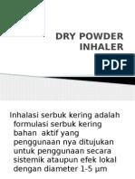 Dry Powder Inhaler
