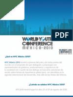 Info sobre Conferencia Mundial de Juventud