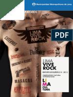 Reporte Estadistico - Lima Vive Rock