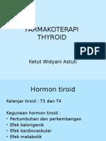 Farmakoterapi Tiroid - Ketut Widyani