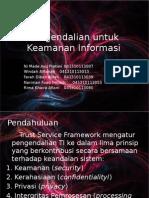 Pengendalian Untuk Keamanan Informasi