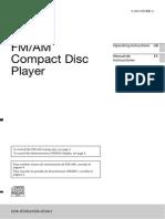 Sony CDX-GT45U/CDX-GT44U