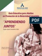 Guía Educativa para adultos en promoción de la maternidad saludable - Agentes Comunales en Salud.pdf