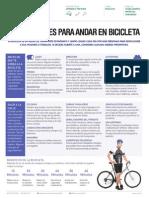Precauciones Para Andar en Bicicleta