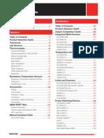 Sensor Controller Catalog