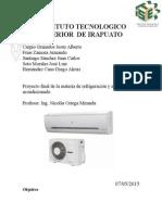 Proyecto de Refrigeracion y Aire Acondicionado