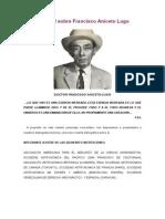Biografia Actualizada de Francisco Aniceto Lugo