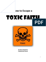 How to Escape a Toxic Faith