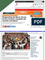 15-05-2015 Propuestas de Nerio Torres Arcila reciben respaldo del oriente meridano.