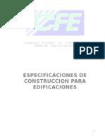 Especificaciones de Edificios-SLRC