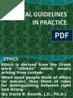 Ethics,Iap,Apta,Wcpt
