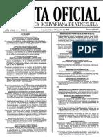Gaceta Oficial de la República Bolivariana de Venezuela 40467