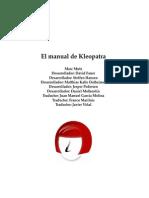 Manual de Kleopatra, uso correcto de la aplicacion