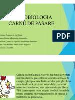Microbiologia Carnii de Pasare