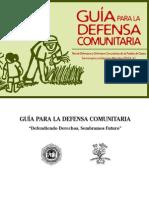 Guia Defensa Comunitaria