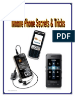 Mobile Phone Secrets and Tricks