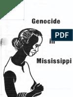 Genocide in Mississippi