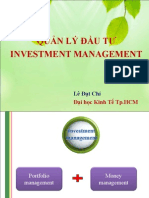 Lecture Investment Master