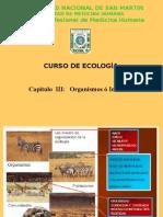 Cap III. Organismos