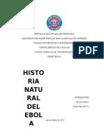 Historia Natural Del Ebola